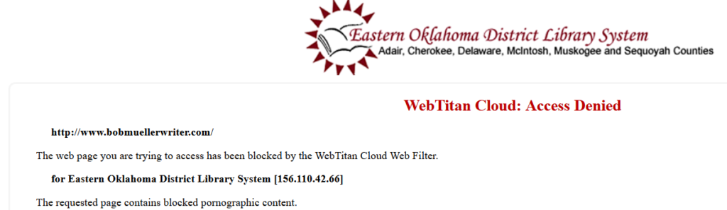 WebTitan web filtering technology miscategorized my website